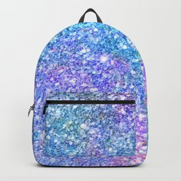 Colorful Glitter Texture Backpack