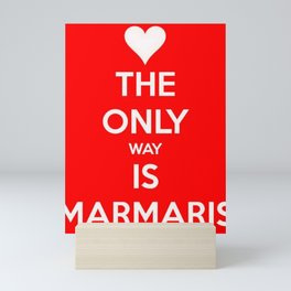 The Only Way Is Marmaris Mini Art Print