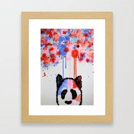 Rogue Panda -I Thought Painting Framed Art Print