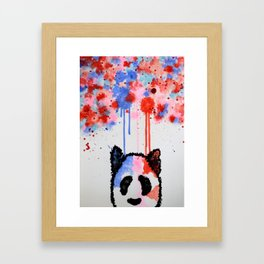 Rogue Panda -I Thought Painting Framed Art Print