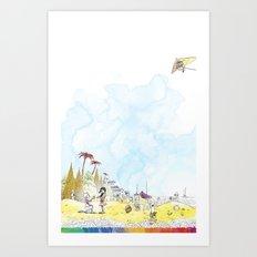 you're COLOR - Page 2 Art Print