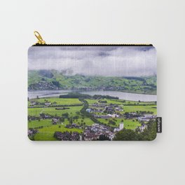 Lauerzersee During Storm - Schwyz Canton Carry-All Pouch