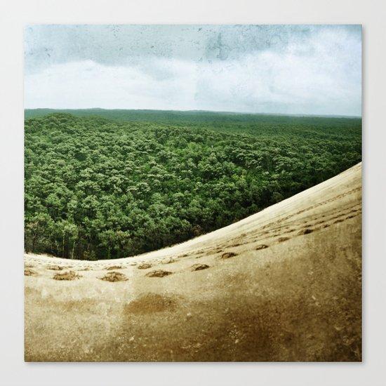 Beyond the Sand Dune Canvas Print