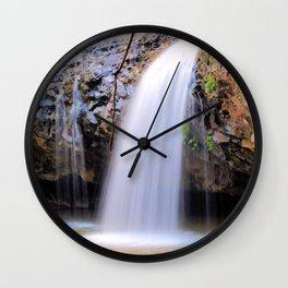 Lip Falls Wall Clock