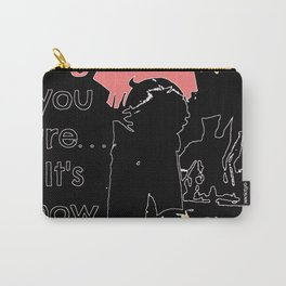 basketball quote Carry-All Pouch