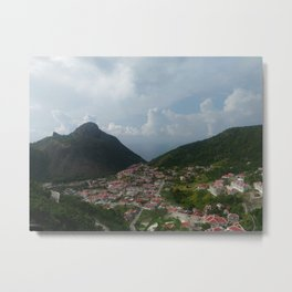 The Bottom Metal Print