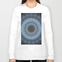 bohemian Long Sleeve T-shirts featuring Bohemian Blue by Jane Lacey Smith