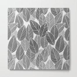 Lots of leaves  Metal Print