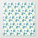 Blueberry Watercolour Pattern by jenschier