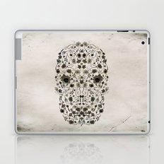 Watercolor Floral Skull Laptop & iPad Skin