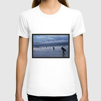 santa monica T-shirts featuring Santa Monica Surf by Willinok