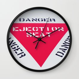 EJECTION SEAT Wall Clock