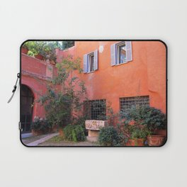 Trasvtevere Courtyard Laptop Sleeve
