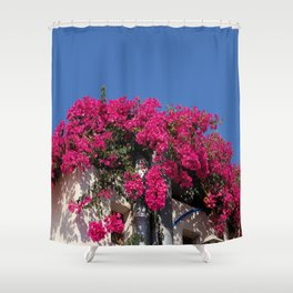 Mediterranean Colors Shower Curtain