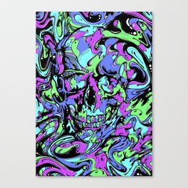 SKULL (Colorway A) Canvas Print