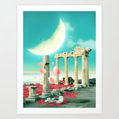 Moon Kingdom Art Print