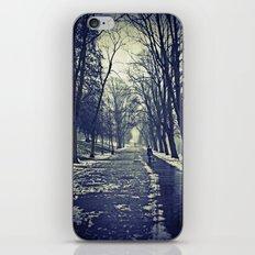 A walk through the park I iPhone & iPod Skin