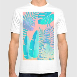 Tropics ( monstera and banana leaf pattern ) T-shirt