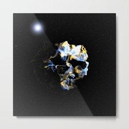 Ghostly Nebulae Metal Print