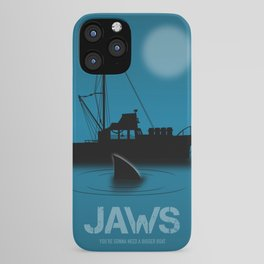 Jaws - Alternative Movie Poster iPhone Case