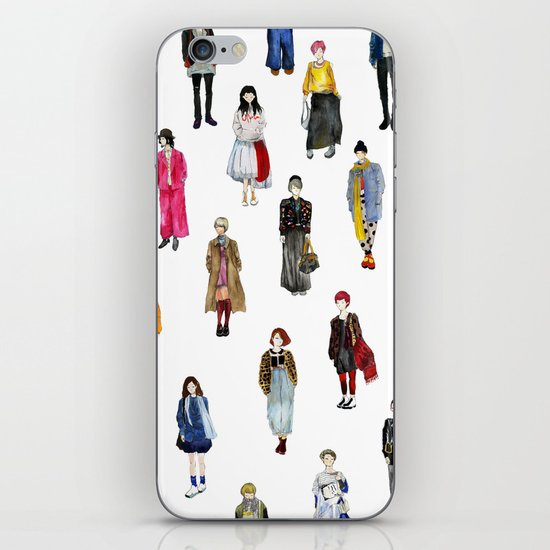 Japanese Street Snap iPhone & iPod Skin