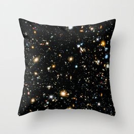 Starry Space Throw Pillow