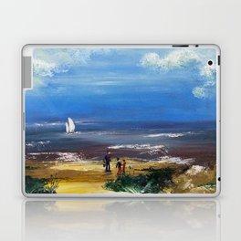 A marée basse Laptop & iPad Skin