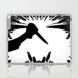 Slashing Knife In Hand Laptop & iPad Skin