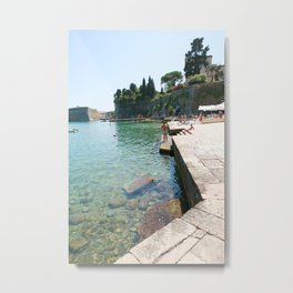 Greece Paradise Metal Print