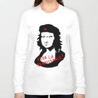 renaissance Long Sleeve T-shirts featuring Viva la renaissance! by Misha Libertee