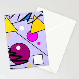 Abstract graphic design,geometric shapes tshirt design Stationery Cards