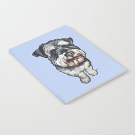Barney the Miniature Schnauzer Notebook