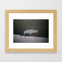 Hydrogen Monoxide FootPrint Framed Art Print