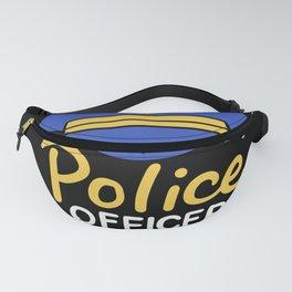Retired Police Officer Full Time Grandpa Fanny Pack