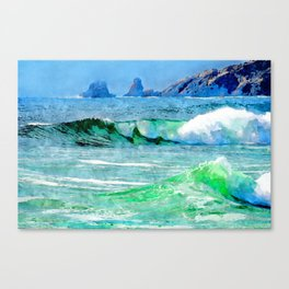 Modified - La mer Canvas Print