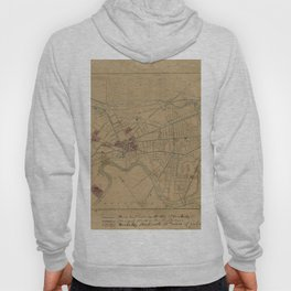 Map of Cambridge 1861 Hoody