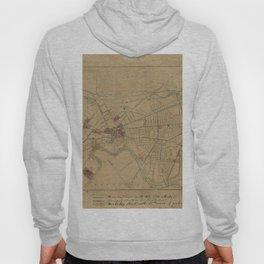 Map of Cambridge 1861 Hoody