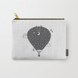 Hot air balloon at night Carry-All Pouch