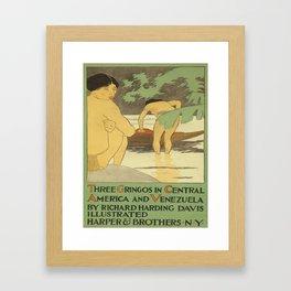 Vintage poster - Three Gringos Framed Art Print