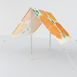 Orange Slices With Blossoms Sun Shade