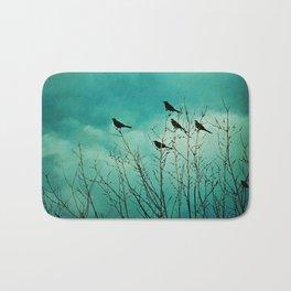 Like Birds on Trees Bath Mat