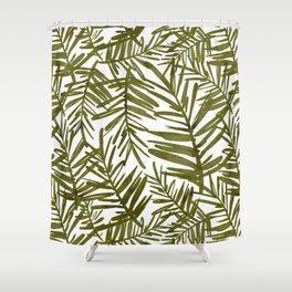 Jungle Palms Shower Curtain
