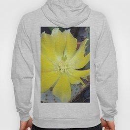 Yellow cactus flower Hoody