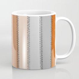 orange lines Coffee Mug