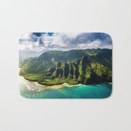 Island of Kauai, Hawaiian Islands Bath Mat
