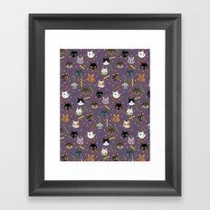 Kitty Party Framed Art Print