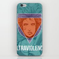 ultraviolence iPhone & iPod Skins featuring UltraViolence by EzJedi