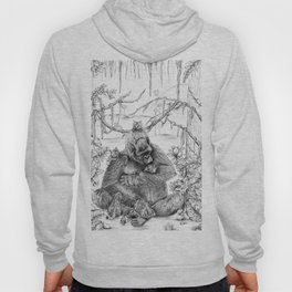 Koko Love Graphite Drawing Hoody