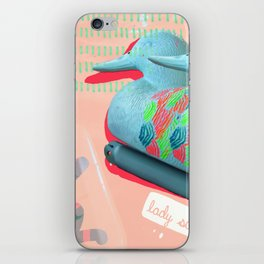 Brutalized Duck Decoy iPhone Skin
