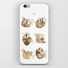 Sloths iPhone & iPod Skin